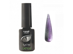 Гель-лак Cat's eye Satin №6153, 6мл RuNail