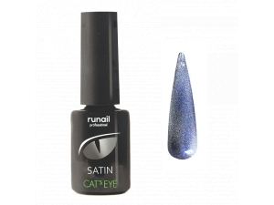 Гель-лак Cat's eye Satin №6154, 6мл RuNail