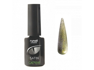 Гель-лак Cat's eye Satin №6150, 6мл RuNail