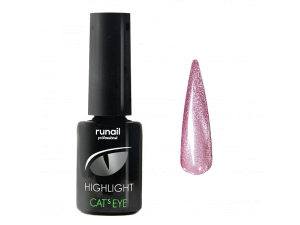 Гель-лак Cat's eye Highlight №6034, 6мл RuNail