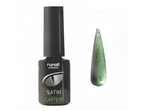 Гель-лак Cat's eye Satin №6156, 6мл RuNail