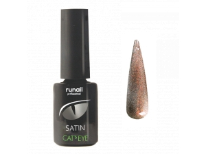 Гель-лак Cat's eye Satin №6151, 6мл RuNail