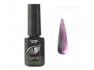 Гель-лак Cat's eye Satin №6152, 6мл RuNail