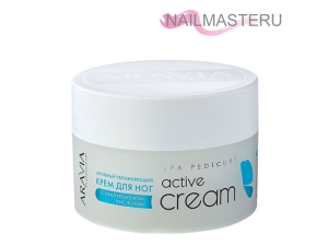 Крем активный увлажняющий с гиалуроновой кислотой Active Cream ARAVIA Professional (150мл)