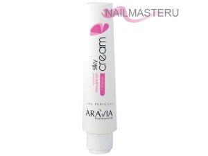 Крем для ног шёлковый с пудрой Silky Cream ARAVIA Professional (100мл)