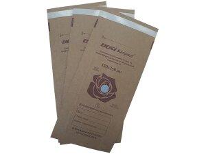 "Пакет из КРАФТ - БУМАГИ самозапечатывающийся плоский 150 мм х 250 мм ""DGM Steriguard"""