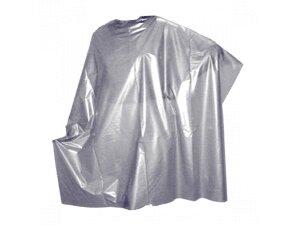 Пеньюар для парикмахеров Стандарт п/э M14 (Серебро) 160х100 см 50 шт/упк