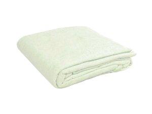 Простыня махровая белая 200х155 см 380 г/м2