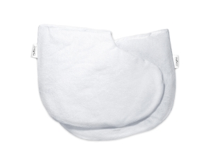 Валенки косметические (белые, махровые), 2 шт
