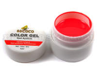 Gd coco gel color - №101 алый 5 мл.