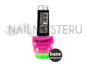 База Bluesky base Flower Gel Прозрачная