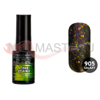 Гель-лак Giorgio Capachini Galaxy Style №905 GC (lime stars), 7 мл