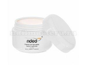 Ультро белый уф  гель  - Nded french UV gel weiss 15ml.