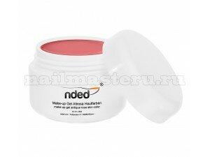 Гель камуфляжный Nded Make up UV gel Antique Rose Skin 15 мл (Античная роза)