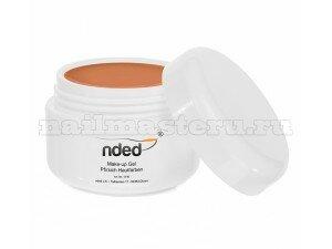 Гель камуфляжный персиковый Nded Make up UV gel Pfirsich Hauffarben 15 мл